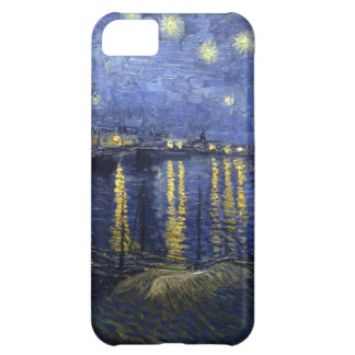 Noche estrellada sobre el caso del iPhone 5 de Rho