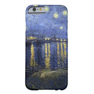 Noche estrellada sobre el caso del iPhone 6 de Funda De iPhone 6 Barely There