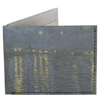 Noche estrellada sobre el Rhone de Van Gogh Billeteras Tyvek®