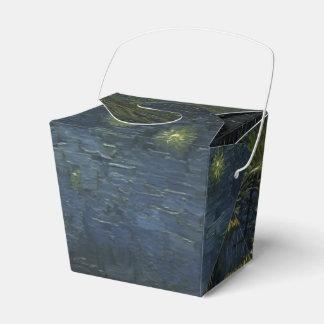 Noche estrellada sobre el Rhone de Van Gogh Cajas Para Regalos