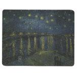 Noche estrellada sobre el Rhone de Van Gogh Cuaderno