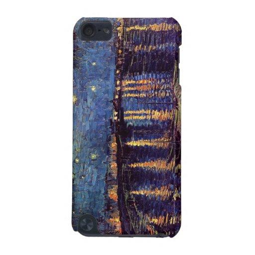 Noche estrellada sobre el Rhone de Vincent van Gog Funda Para iPod Touch 5G