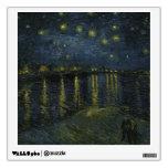 Noche estrellada sobre el Rhone - el Van Gogh