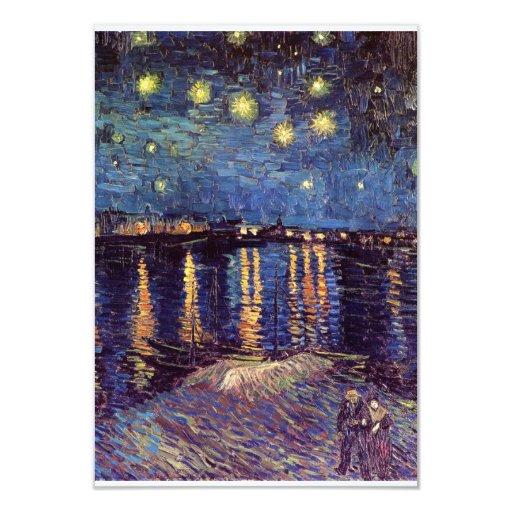 Noche estrellada sobre el Rhone - el Van Gogh Comunicados Personales