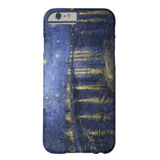 Noche estrellada sobre el Rhone Funda De iPhone 6 Barely There