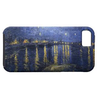 Noche estrellada sobre el Rhone iPhone 5 Carcasas