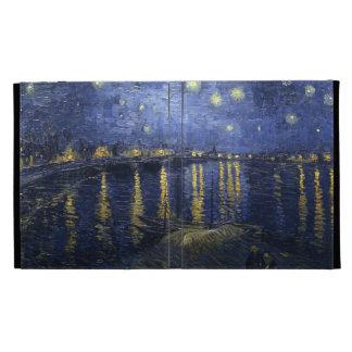 Noche estrellada sobre el Rhone