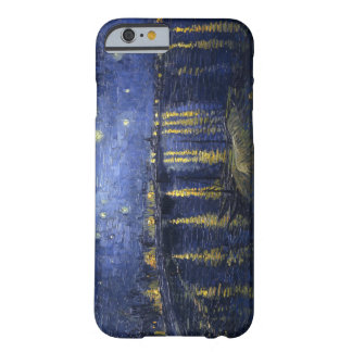 Noche estrellada sobre el Rhone Funda Para iPhone 6 Barely There