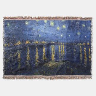 Noche estrellada sobre el Rhone Manta