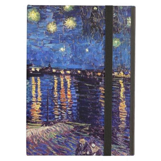 Noche estrellada sobre el Rhone, por Vincent van