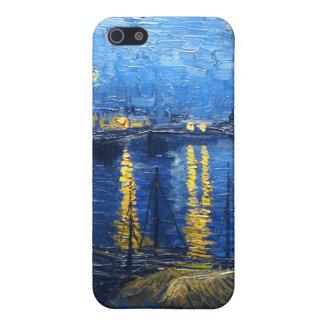 Noche estrellada sobre el Rhone, Van Gogh iPhone 5 Carcasas