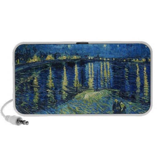 Noche estrellada sobre el Rhone Vincent van Gogh iPod Altavoz