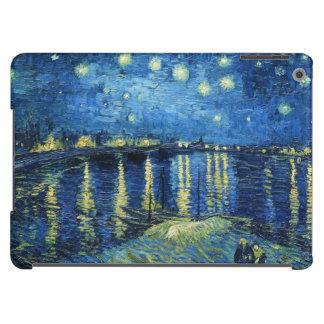 Noche estrellada sobre el Rhone Vincent van Gogh Carcasa Para iPad Air