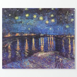 Noche estrellada sobre el Rhone, Vincent van Gogh.