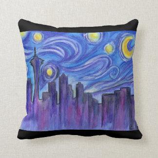 Noche estrellada sobre Seattle