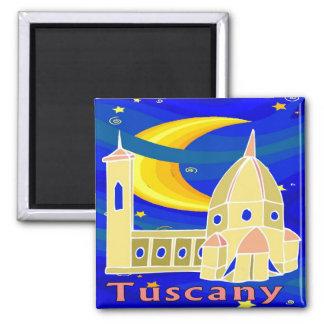 Noche estrellada Toscana Imán De Frigorifico