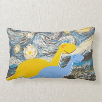 Noche estrellada usted es una almohada linda de lo
