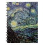 Noche estrellada - Van Gogh Libreta Espiral