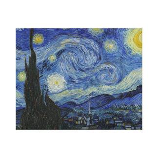 Noche estrellada Van Gogh Impresiones En Lona