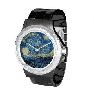 Noche estrellada - Van Gogh Relojes De Mano