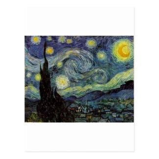 Noche estrellada - Van Gogh Tarjeta Postal