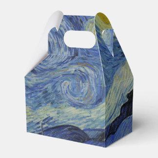 Noche estrellada Vincent van Gogh Cajas Para Regalos De Boda