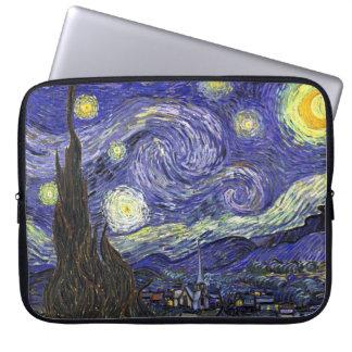 Noche estrellada, Vincent van Gogh. Fundas Computadoras