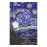 Noche estrellada, Vincent van Gogh. Papeleria De Diseño