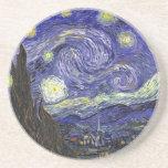 Noche estrellada, Vincent van Gogh. Posavasos Personalizados