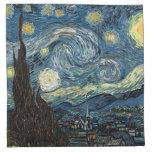Noche estrellada Vincent van Gogh Servilletas