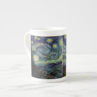 Noche estrellada, Vincent van Gogh. Taza De Porcelana