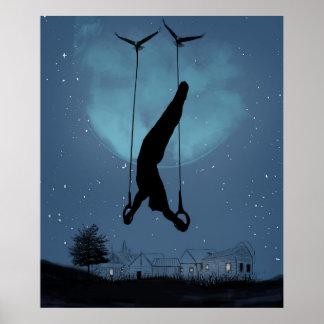 Noche extraña póster