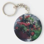 Noche Flowers Key Chain