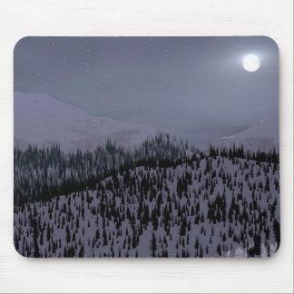 Noche fría en Idaho Alfombrilla De Raton