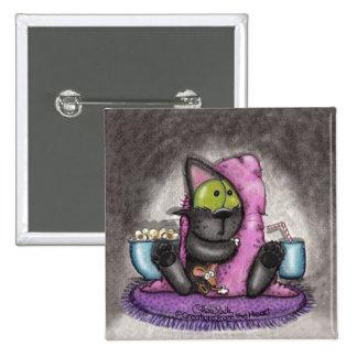Noche-Gato y ratón asustadizos de la película Pin