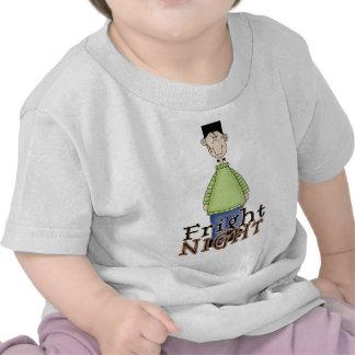 Noche Halloween del susto de Frankenstein Camiseta