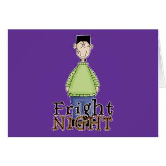 Noche Halloween del susto de Frankenstein Tarjetas