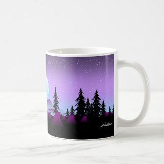 Noche ideal del colector taza de café