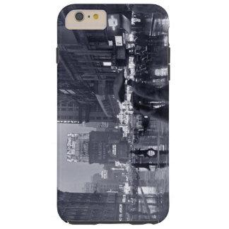 Noche lluviosa en Nueva York vieja Funda Para iPhone 6 Plus Tough