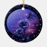 Noche mágica ornamento para arbol de navidad