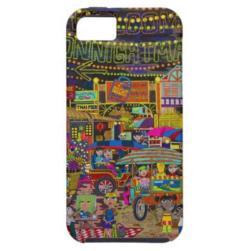 'Noche Market de Angkor iPhone 5 Case-Mate Cárcasa