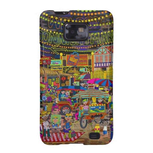 'Noche Market de Angkor Samsung Galaxy S2 Carcasa