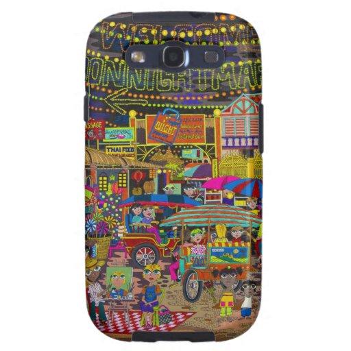 'Noche Market de Angkor Samsung Galaxy SIII Funda