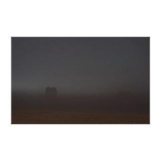 Noche misteriosa en la impresión de la lona de la  impresiones en lona estiradas