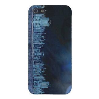 Noche oscura iPhone 5 carcasa