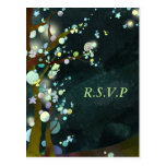 Noche preciosa: Postales de RSVP del boda