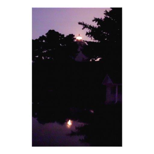 Noche púrpura  papeleria