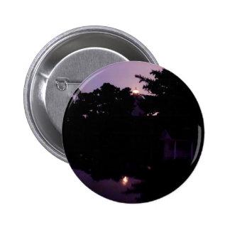 Noche púrpura pin redondo de 2 pulgadas