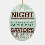 ¡Noche santa del OH! Ornato