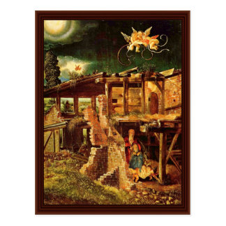 Noche santa (natividad) por Altdorfer, Albrecht Tarjetas Postales